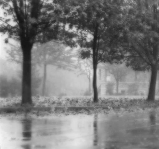 Rainy October, Iwao Matsushita. University of Washington Libraries Special Collections Division.