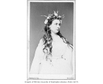 Henrietta  Chanfrau in the role of Ophelia from a production of HAMLET