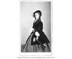 Jane Coombs in the role of Lady Gay Spanker in a production of the play LONDON ASSURANCE