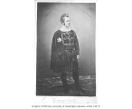 Edwin Forrest in the role of Hamlet from a production of HAMLET