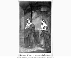 Laura Keene and Agnes Robertson in roles from the play  JEANIE DEAN