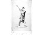 Charles Kemble in the role of Orestes in the play THE DISTRESST MOTHER