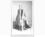 Madame Ponisi in the role of Lady Macbeth from a production of MACBETH