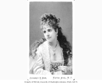 Adelaide Neilson in the role of Juliet from a production of ROMEO AND JULIET