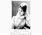 Adelaide Neilson in costume, probably in the role of Beatrice from the play MUCH ADO ABOUT NOTHING