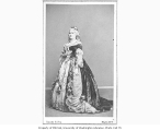 Madame Ponisi in the role of Pompadour from a production of  the play NARCISSE