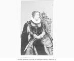 Adelaide Ristori in the role of Mary Stuart from a production of the play MARY STUART