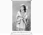 Mary F. Scott Siddons in the role of Rosalind from a production of the play AS YOU LIKE IT