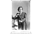 Edwin Booth in the role of Hamlet in a production of the play Hamlet
