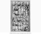 Collage of 19th century well known personalities on the lecture circuit