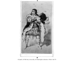 Junius Brutus Booth, Sr., in the role of Richard III from a production of Richard III