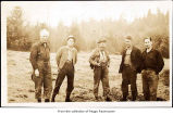 Men, possibly on the Olympic Peninsula