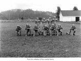 Forks High School football team, 1956, probably in Forks