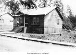 House, probably Harry and Eva Hall's in Clallam County, probably near Pysht