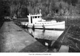 Tugboat on the Pysht River in Clallam County