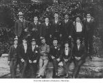 Hall and Bishop Logging Company crew, probably in or near Gettysburg