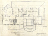 Albert S. Kerry residence (Seattle, Wash.), second floor plan