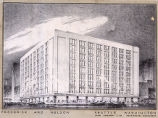 Frederick and Nelson department store (Seattle, Wash.), study for