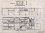 Arctic Club building (Seattle, Wash.), elevation, plan and cast iron details of first and second...