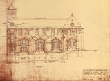 Fire Station no. 25 (Seattle, Wash.), front elevation
