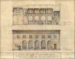 Hayes and Hayes bank (Aberdeen, Wash.), section and elevation