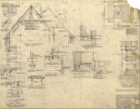 Sigma Chi Fraternity (Seattle, Wash.), construction details and plot plan
