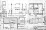 Mr. and Mrs. S. Blair Kirk house (Seattle, Wash.), plans and sections