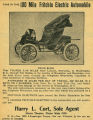 100-Mile Fritchle Electric Automobile (1909)
