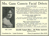 Mrs. Gunn's Rejuvenating Solutions (1917)