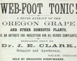 Web-foot Tonic (1867)