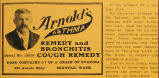 Arnold's Asthma Remedy (1909)