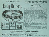 Dr. Pierce's Body Battery (1889)