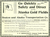 Steamship Service to Alaska (1898)