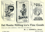 Del Monte Milling Company's Flour and Cereals (1898)
