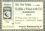 Crescent Baking Powder (1898)