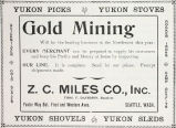 Alaskan Gold Mining Supplies (1897)