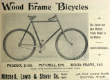 Wood Frame Bicycles (1897)