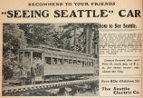 Seeing Seattle Car Tour (1905)