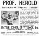 Professor Herold: Instructor of Physical Culture (1910)