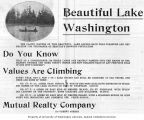 Lake Washington Real Estate (1909)
