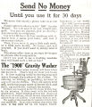 Gravity Washer (1908)
