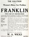 Franklin Automobiles (1913)