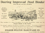 Deering Steel Binder (1896)