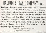 Radium Spray Liquid Cleaner (1909)