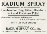 Radium Spray Insect Killer (1909)