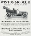 Winton Model K Automobile (1906)