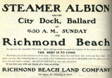 Richmond Beach Real Estate (1904)
