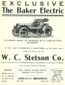 Baker Electric Automobiles (1908)