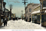 Front Street in winter, Nome, n.d.