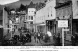 Front Street showing Hotel Stedman in background, Ketchikan,October 5, 1905